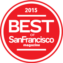 Best of the San Francisco Award - 2015