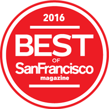 Best of the San Francisco Award - 2016